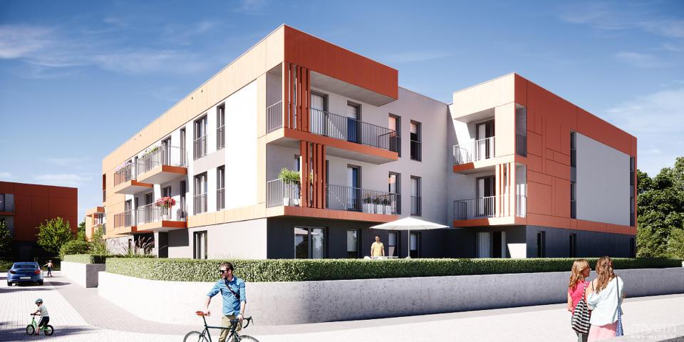 Housing estate in Gliwice