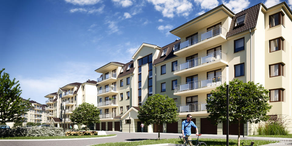 Housing estate in Wrzesnia