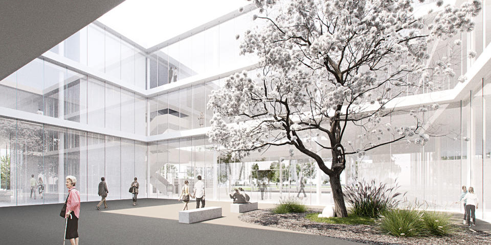 (Polski) Koncepcja Architektoniczna Mediateki w Pile