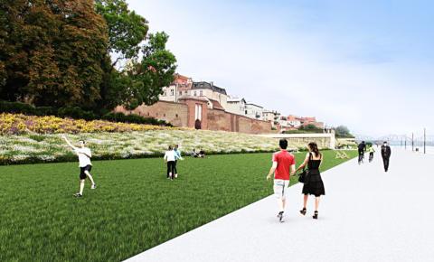 (Polski) Koncepcja urbanistyczno-architektoniczna zagospodarowania Bulwaru Filadelfijskiego w Toruniu